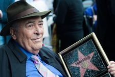 Bertolucci celebrates his star on the Hollywood Walk of Fame