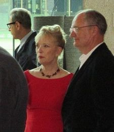 Le Week-End's Jeff Goldblum, Lindsay Duncan and Jim Broadbent at New York Film Festival