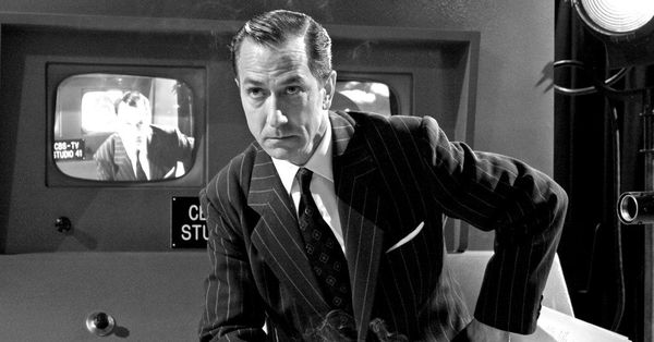 film review good night and good Good night, and good luck is george clooney's admiring portrait of edward r murrow (david strathairn) murrow first appears in 1958 accepting an award from the radio-television news directors association for his remarkable work as a journalist, then cuts back to 1953, just as murrow's measured, sustained response to mccarthy's house un-american activities committee is getting underway.