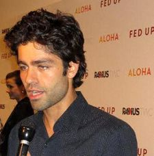 "Adrian Grenier: ""I drank a lot more water, cut down on alcohol and I eliminated sugar"""