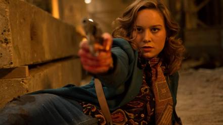 Brie Larson as Justine in Free Fire, which will close the 2016 London Film Festival