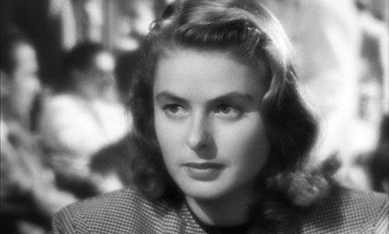 Ingrid Bergman in Notorious.