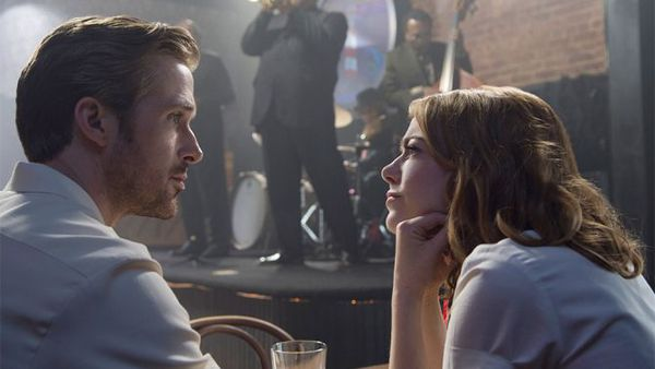 La La Land won a record seven Golden Globes, including acting prizes for Ryan Gosling and Emma Stone