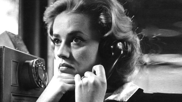 Jeanne Moreau in Lift To The Scaffold