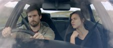 Car share: Mark Rowley and Ana Ularu on a journey of self-discovery in Lift Share
