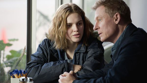 Odessa Young and Richard Roxburgh in Looking For Grace - 'For once the fractured narrative approach really does work.'