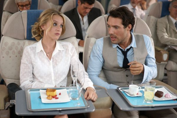 Ludivine Sagnier and Nicolas Bedos in Love Is In The Air