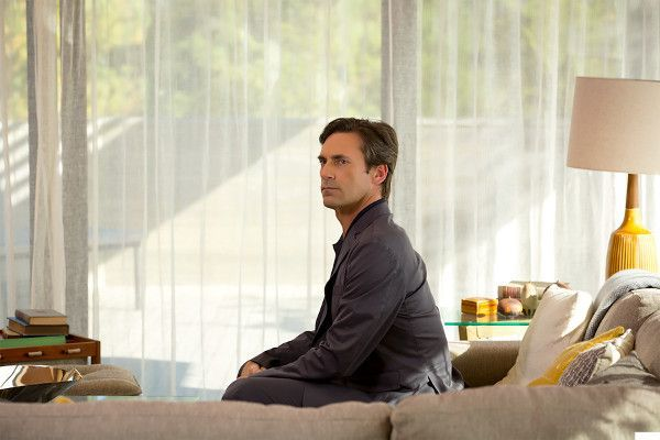 Jon Hamm in Marjorie Prime - in the near future — a time of artificial intelligence — 86-year-old Marjorie has a handsome new companion who looks like her deceased husband and is programmed to feed the story of her life back to her. What would we remember, and what would we forget, if given the chance?