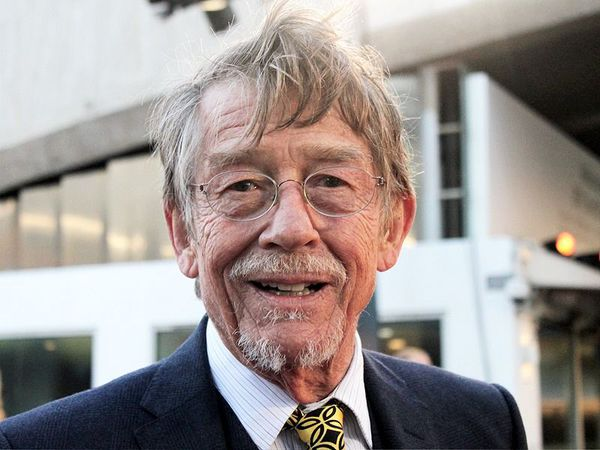 John Hurt at the London premiere of Tinker Tailor Soldier Spy. BFI South Bank, Tuesday 13th September 2011