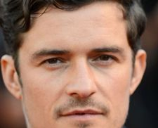Orlando Bloom - lining up for the Normandy sea breezes in Deauville