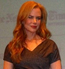 Nicole Kidman, looking a far cry from 'Swamp Barbie' at her Gala Tribute