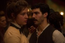 Adèle Exarchopoulos and Tahar Rahim in Les Anarchistes, opening film in Critics' Week