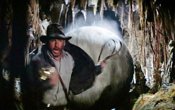 Indiana Jones gets ready to roll
