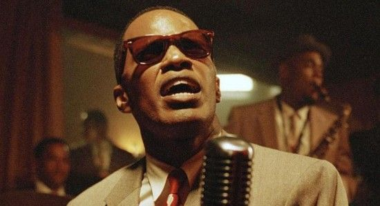 Jamie Foxx in his Oscar-winning role as Ray Charles