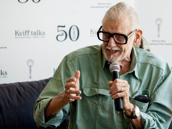 George A Romero in Karlovy Vary: 'I am afraid of people and what they do to each other'