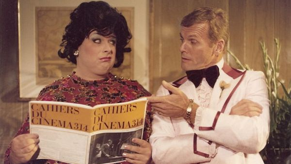 Divine and Tab Hunter in Polyester, which will be shown in Odorama