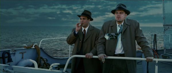 Ruffalo and DiCaprio in Shutter Island