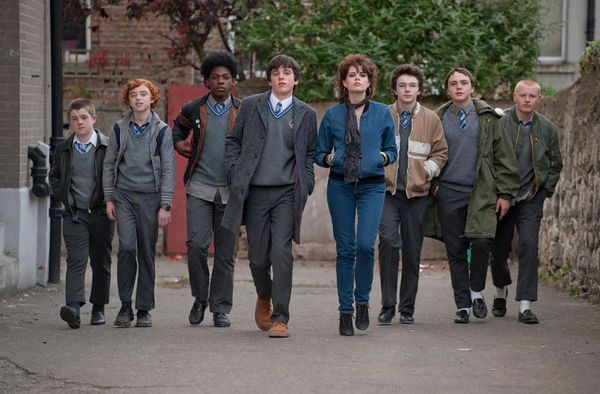 Sing Street - a boy growing up in Dublin during the Eighties escapes his strained family life and tough new school by starting a band to win the heart of a beautiful and mysterious girl.