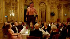 Table thumping win for the Swedish satire The Square which this year's Cannes Palme d'Or