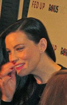 Liv Tyler on the red carpet at MoMA for Fed Up