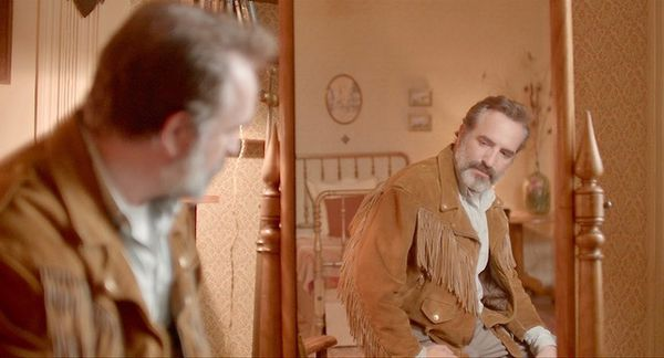 Jean Dujardin stars, with his suede jacket, in Deerskin, opening title of Cannes Directors' Fortnight