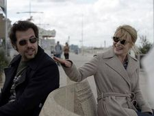 "Laurent Lafitte and Fanny Ardant in Bright Days Ahead by Marion Vernoux. Ardant:  ""Live each period of your life to the fullest. Then you'll never regret anything."""