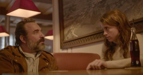 The very odd couple: Jean Dujardin and Adèle Haenel in Deerskin by Quentin Dupieux