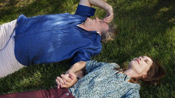 Stellar Gallic duo: Gérard Depardieu and Isabelle Huppert in Guillaume Nicloux's Valley Of Love, a late addition to the Cannes Competition