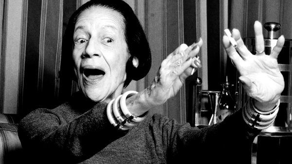 "Diana Vreeland in The Eye Has To Travel - ""You've gotta have style"""