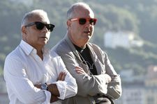 Writer Hanif Kureishi and director Roger Michell at San Sebastian Film Festival