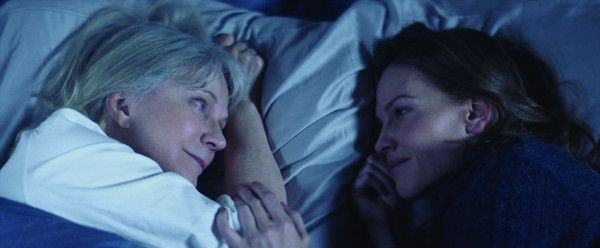 Blythe Danner and Hilary Swank in What The Had
