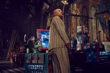 Christoph Waltz as Qohen Leth in The Zero Theorem