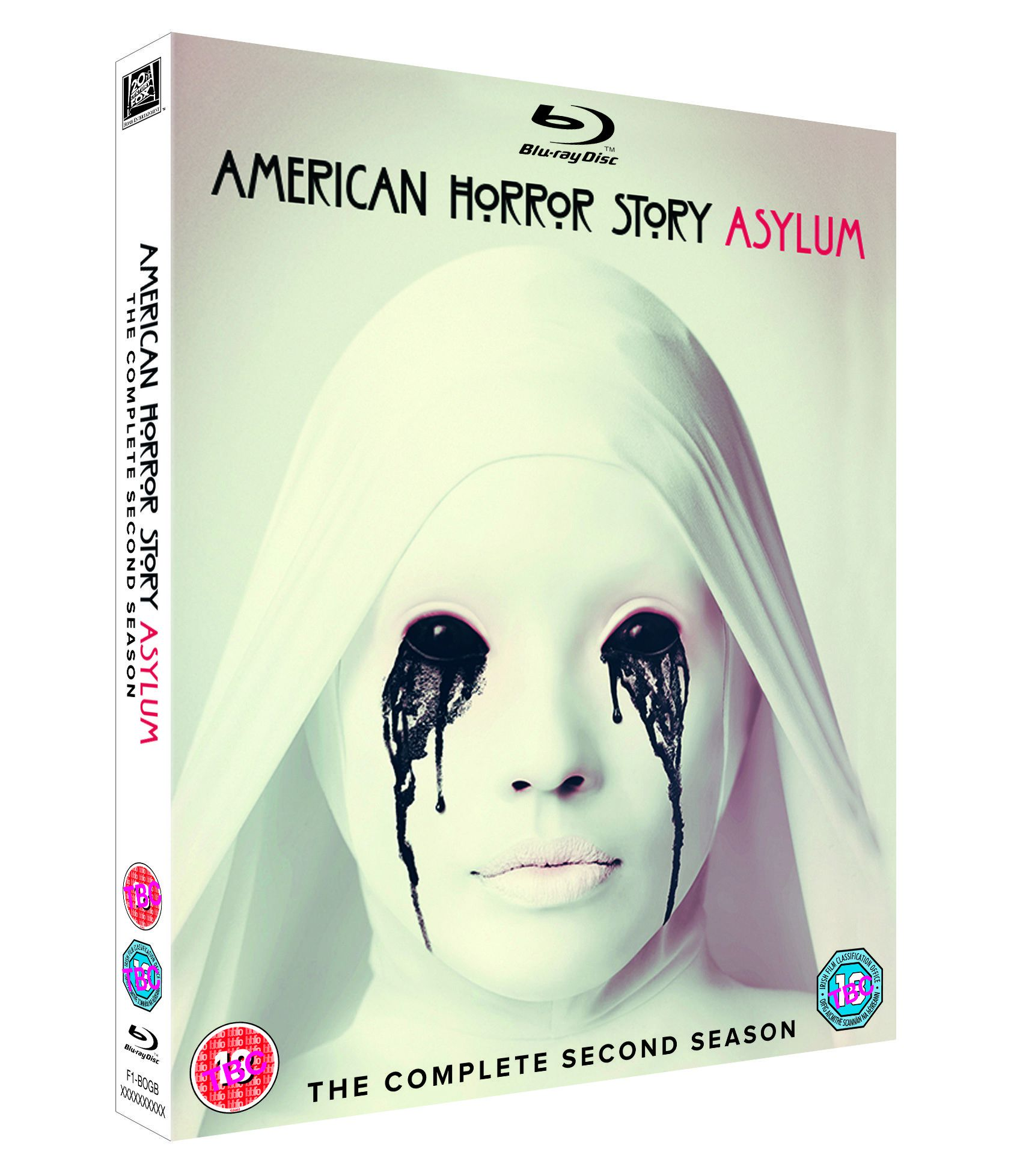 American Horror Story: Asylum - The Complete Second Season packshot