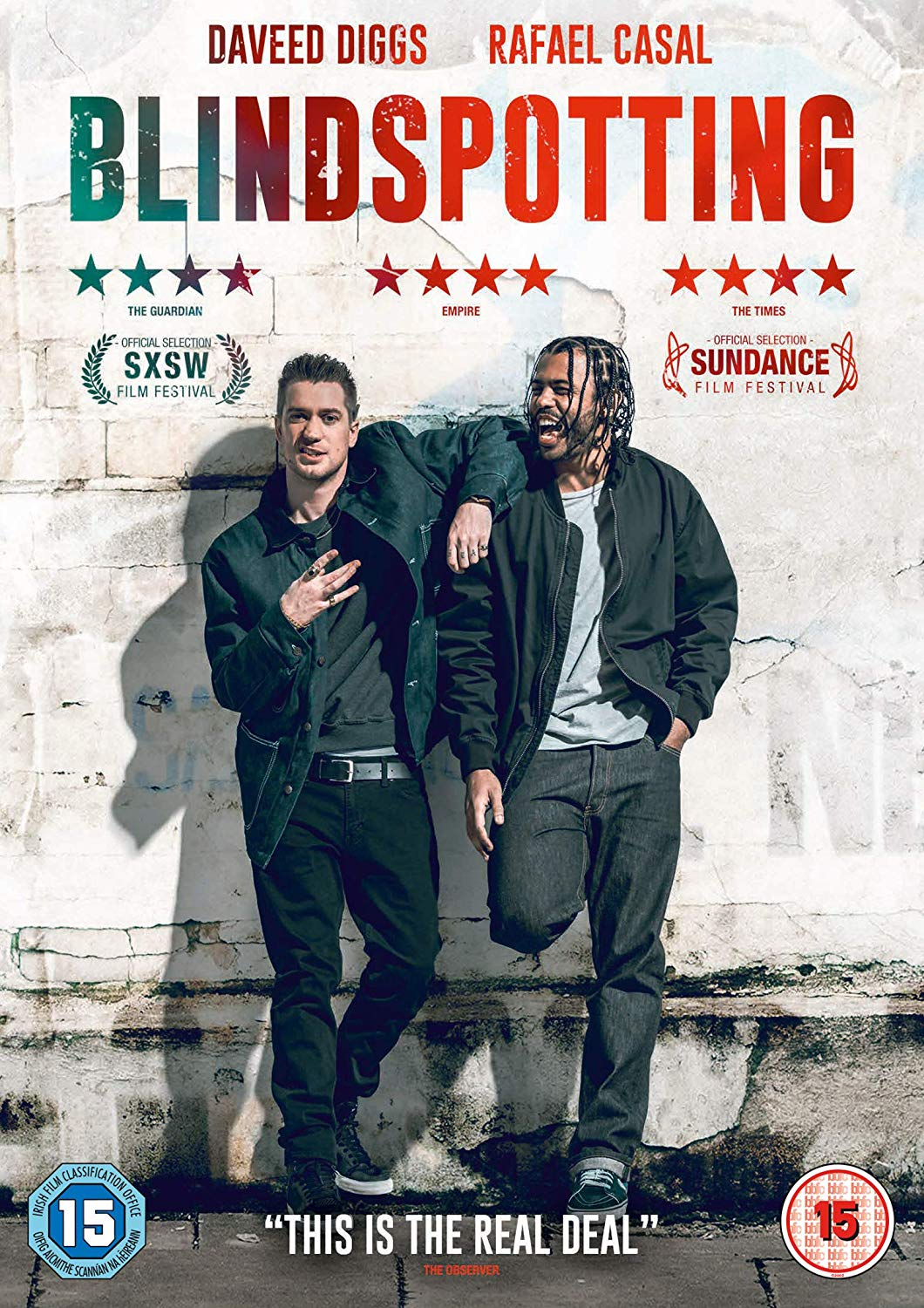 Packshot of Blindspotting on DVD