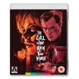 Packshot of The Girl Who Knew Too Much on Blu-Ray