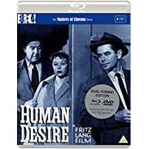 Packshot of Human Desire on Blu-Ray