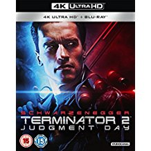 Packshot of Terminator 2: Judgment Day on Blu-Ray