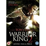 Packshot of Warrior King 2 on DVD